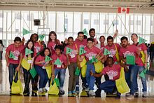 Picture of the Centennial College International Student Ambassador Team